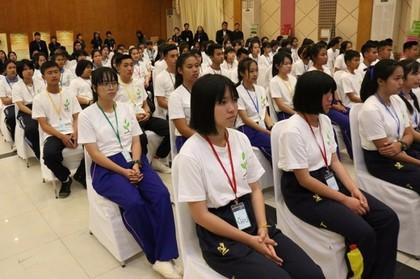 นักเรียน สพม.19 ร่วมโครงการบ่มเพาะต้นกล้าค่านิยม 12 ประการ รุ่นทื่ 8 และรุ่นที่ 9 จังหวัดเลย